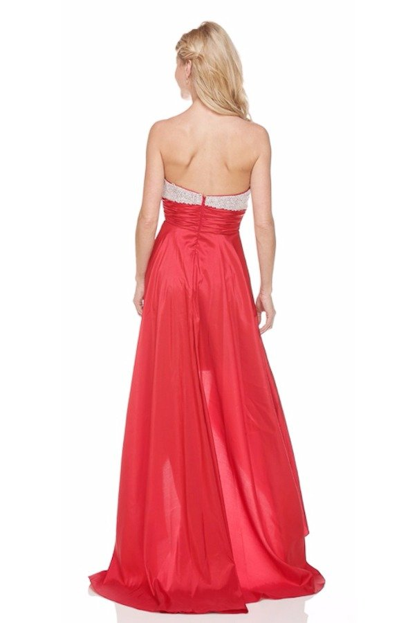 Jasz Couture Jessica Rabbit Red Highlow Dress