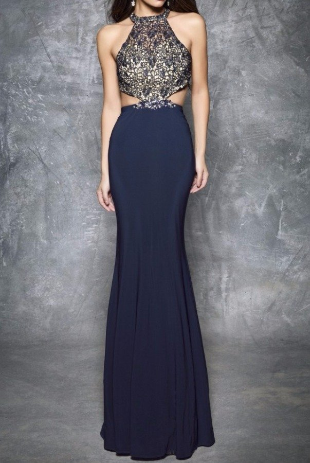 Nina Canacci 1304 Lace Fantasy Hourglass Evening Gown Dress