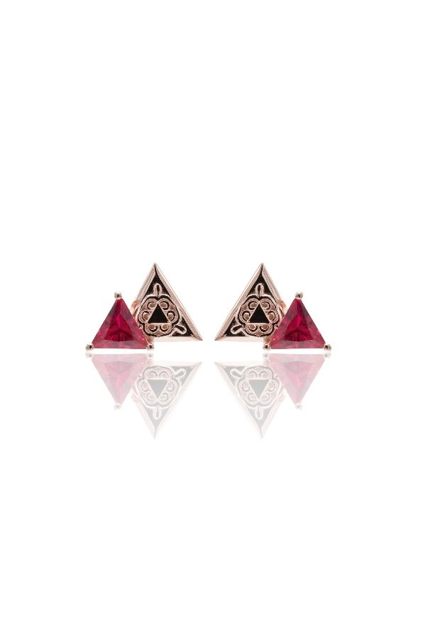 1a64b0a12 Sandugash Gallo AYA Rose Gold Plated Stud Earrings | Poshare