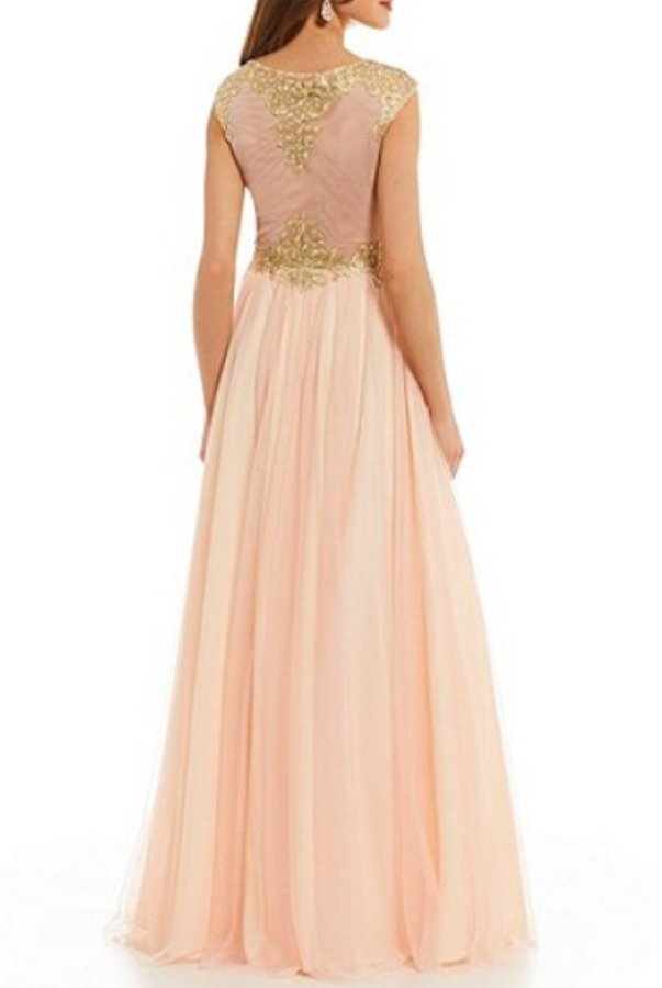 7000db641cb Blondie Nites Embroidered Applique Bodice Ball Gown Blondie Nites  Embroidered Applique Bodice Ball Gown ...