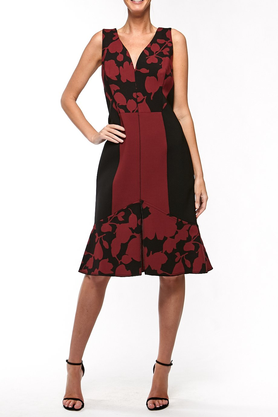 Oscar de la Renta Sweater dress