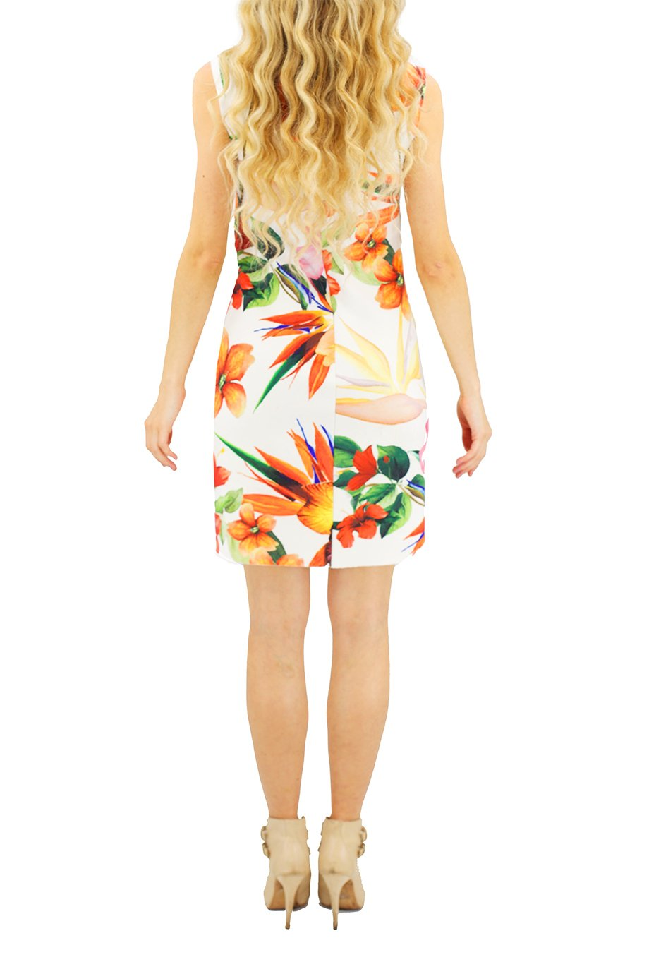 Osklen Summer Floral Stretchy Dress