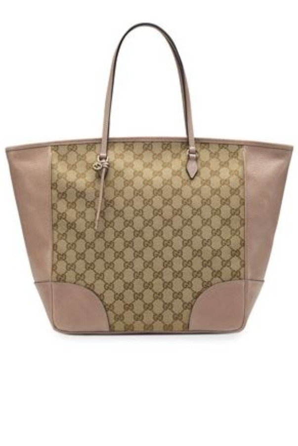 Gucci Bree Original GG Canvas Top Handle Bag