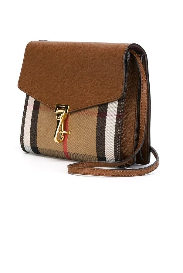 Burberry 'Small Macken' Check Crossbody