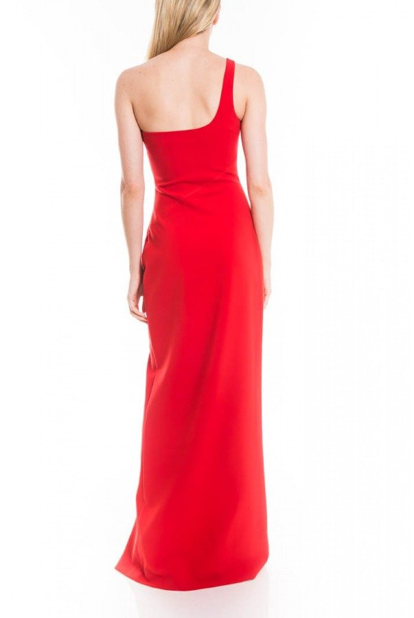 Likely Red Camden One Shoulder Gown YD584001LYB