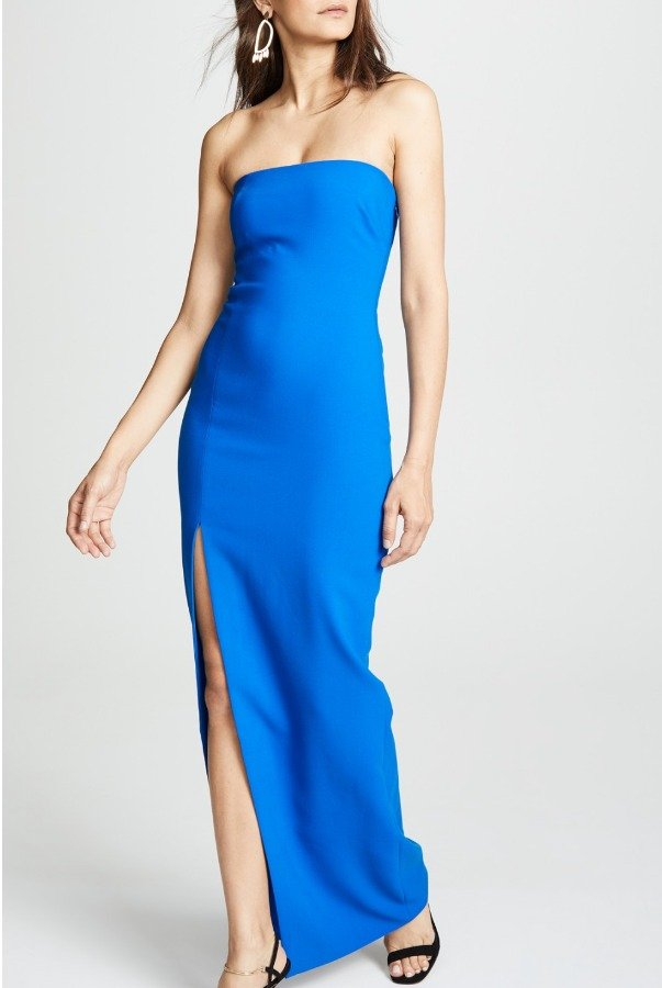 Likely Blue Palmer Strapless Gown YD283001LY