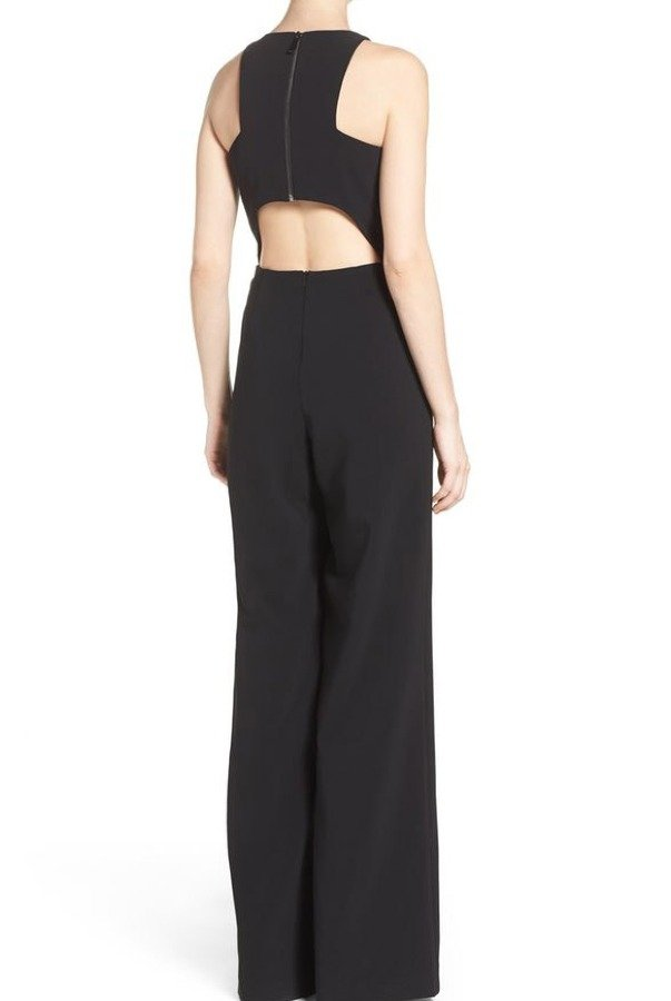 Wayne Jumpsuit Black Jay Godfrey