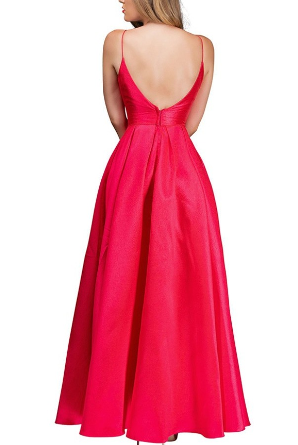 Nina Canacci Red Adora Watermelon Ball Gown 5154