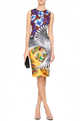 Clover Canyon Floral Printed Tank Dress