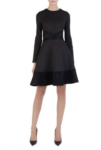 OnePointSix DAKOTA DRESS BLACK
