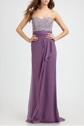 Sweet Lavender Dress Gown