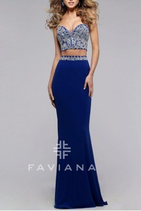 Royal Strapless Ensemble S7524