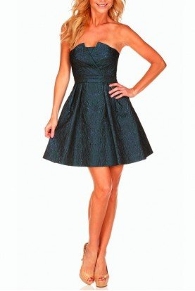 Jacquard Party Dress Metallic