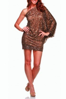 Cartier Bronze Sequin Dress