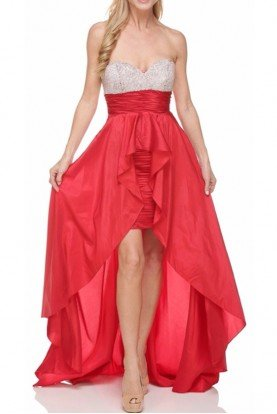 Jessica Rabbit Red Highlow Dress