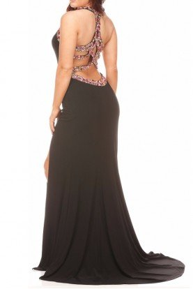 Jasz Couture Starlet Halter Dress