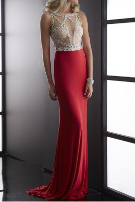 Red Carpet Dress Gown 5045