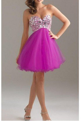 6410 Fun Fuchsia Dress