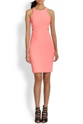 Pink Lela Cutout Dress