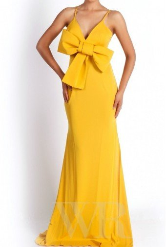 Alex Perry  Anjelita Yellow Gown Spring Summer Classy Dress