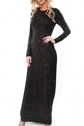 Opening Ceremony Black Sparkle Stretch Sheath Dress