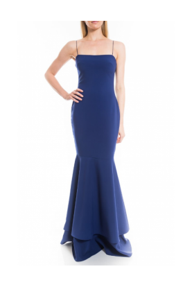 Navy Aurora Mermaid Gown YD269001LYB-N