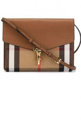 'Small Macken' Check Crossbody