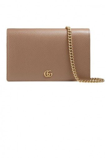 Gucci Petite Marmont Wallet on a Chain
