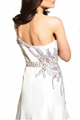 Hi Lo Beaded Prom Dress by Terani Couture Prom