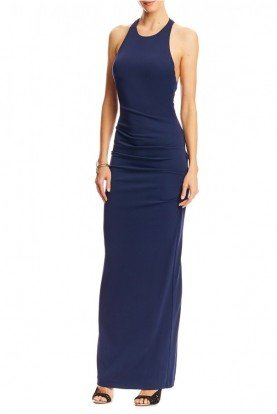 Blue Cross Back Gown BS10046