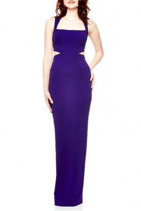 PurpleSleeveless Queen of the Night Dress CF10066