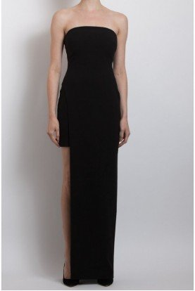 Black Demeyer with Slit Gown Yd244001ly