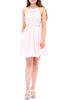 Josh and Jazz Pink Short Party Dress DY067704