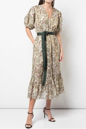 Casandra Dress in Olive