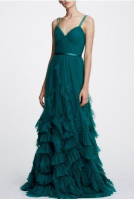 Sleeveless Sweetheart Textured Tulle Gown N30G0839