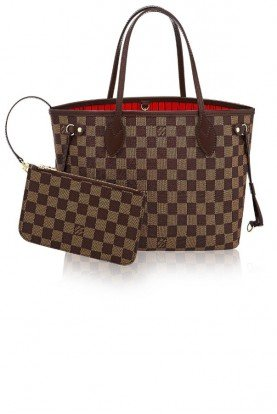 Louis Vuitton Neverfull PM Tote Damier Ebene