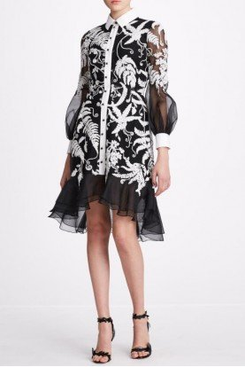 Fern Corded Lace Shirt Dress M27905B