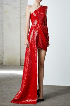 Preston Asymmetrical Gown