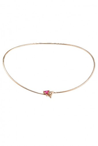 Sandugash Gallo Jewelry Aya Rose Gold Necklace