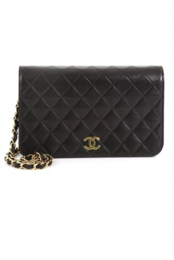 Chanel Vintage Full Flap Quilted Bag